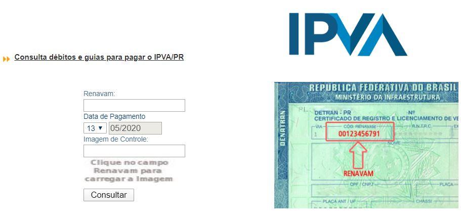 Consulta IPVA Atrasado