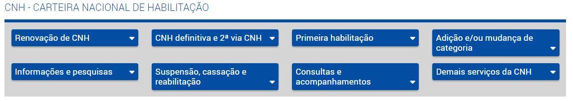 Agendamento de CNH pelo PoupaTempo